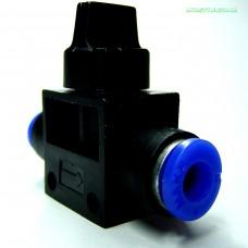 Кран для регулировки подачи воздуха или грубой настройки подачи CO2
